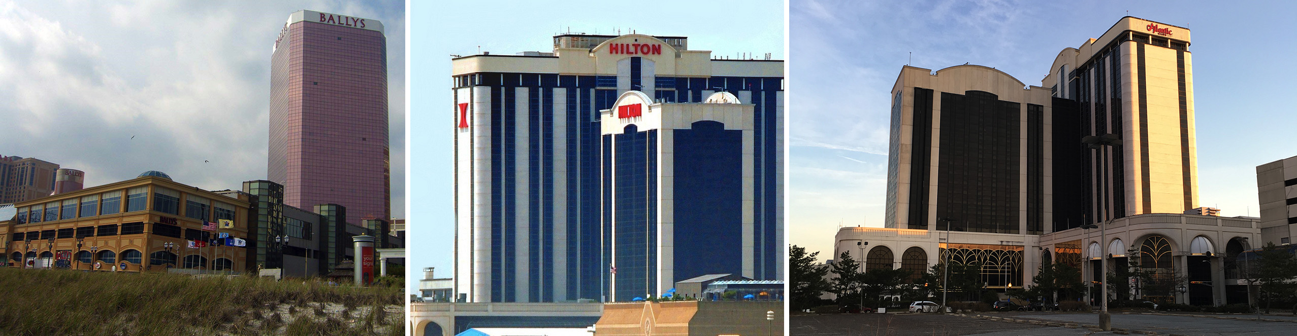 Atlantic Club Hotel Underwent Many Names Over The Years Including Bally S Hilton And Finally