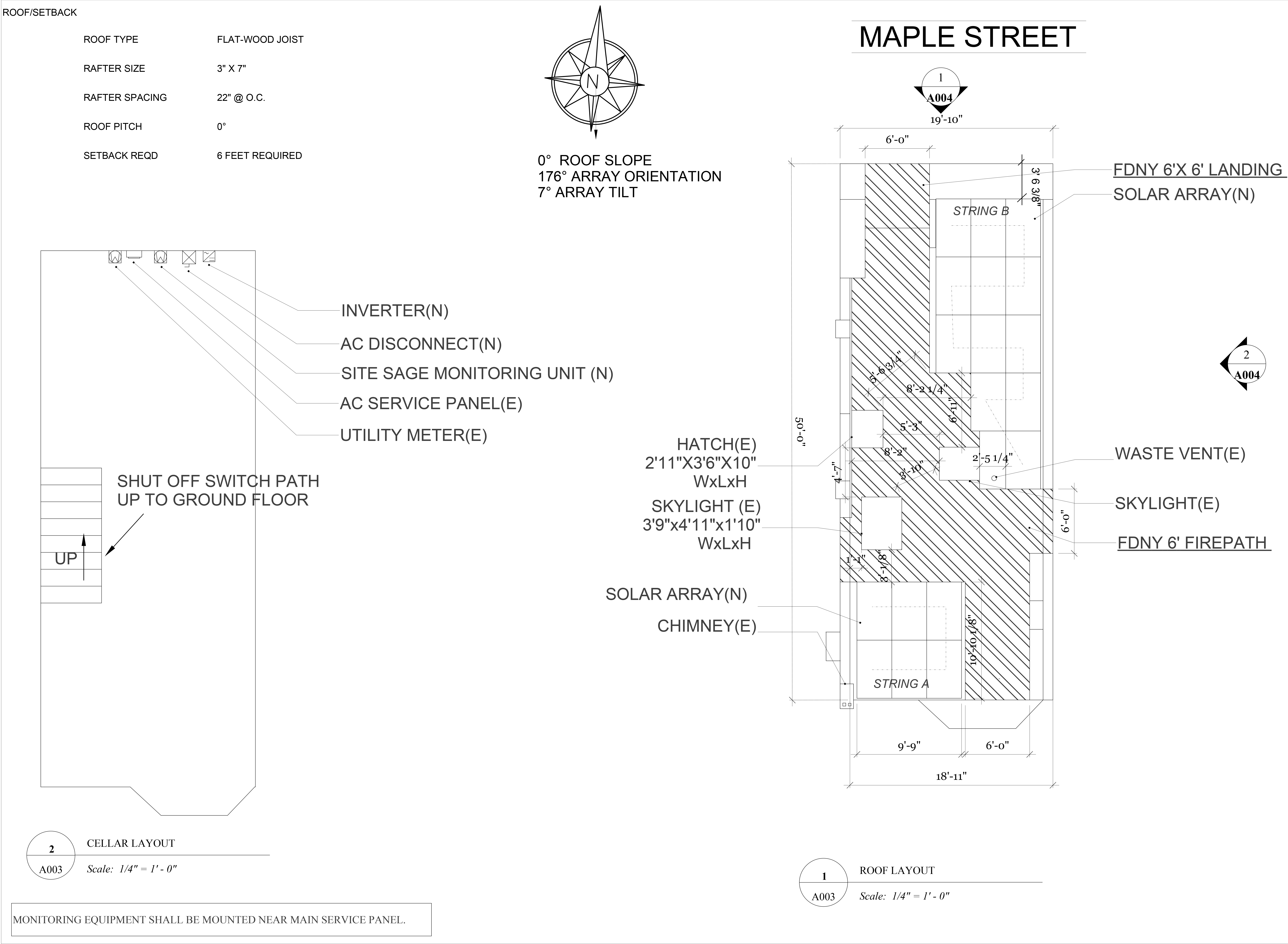 How to install a solar system -  Demonstrate To The Landmarks Preservation Commission That The Solar Panels Would Not Be Visible From The Street Or The Backyards Of Neighboring Homes