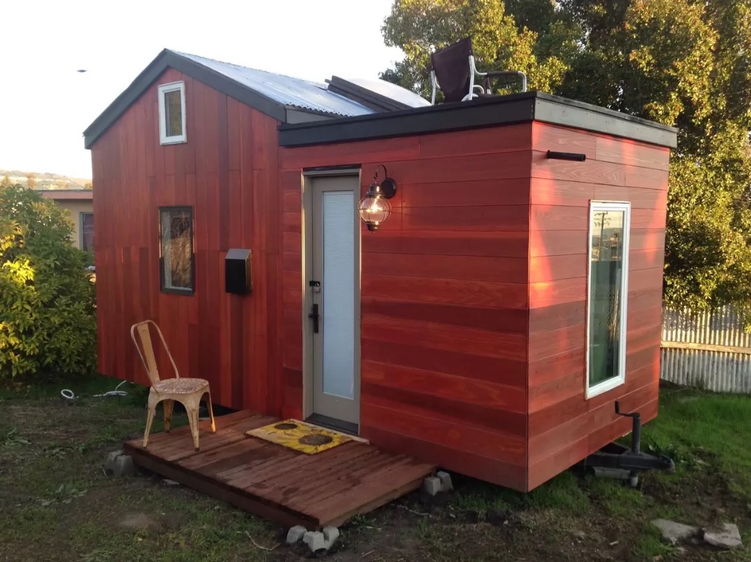 8 tiny homes you can rent right now curbed for Tiny vacation homes