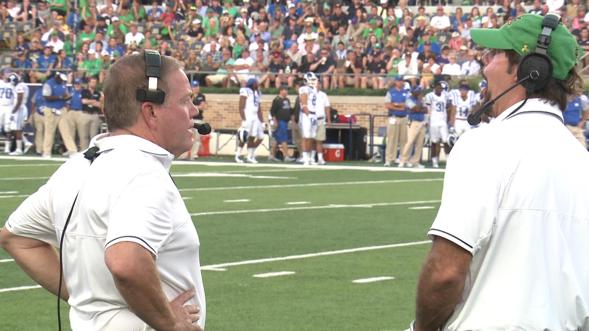 Notre Dame fires defensive coordinator