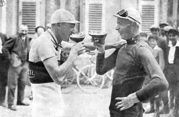 André Leducq and Nicolas Frantz