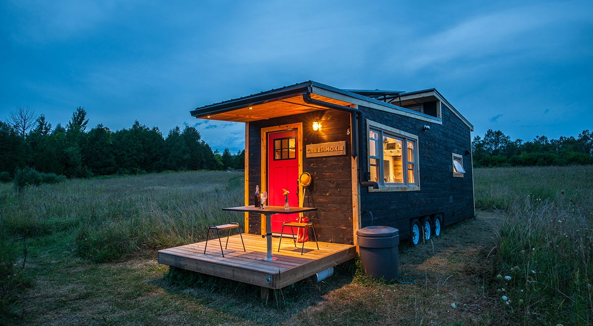 Eco friendly tiny house offers reclaimed style and for Eco friendly tiny house