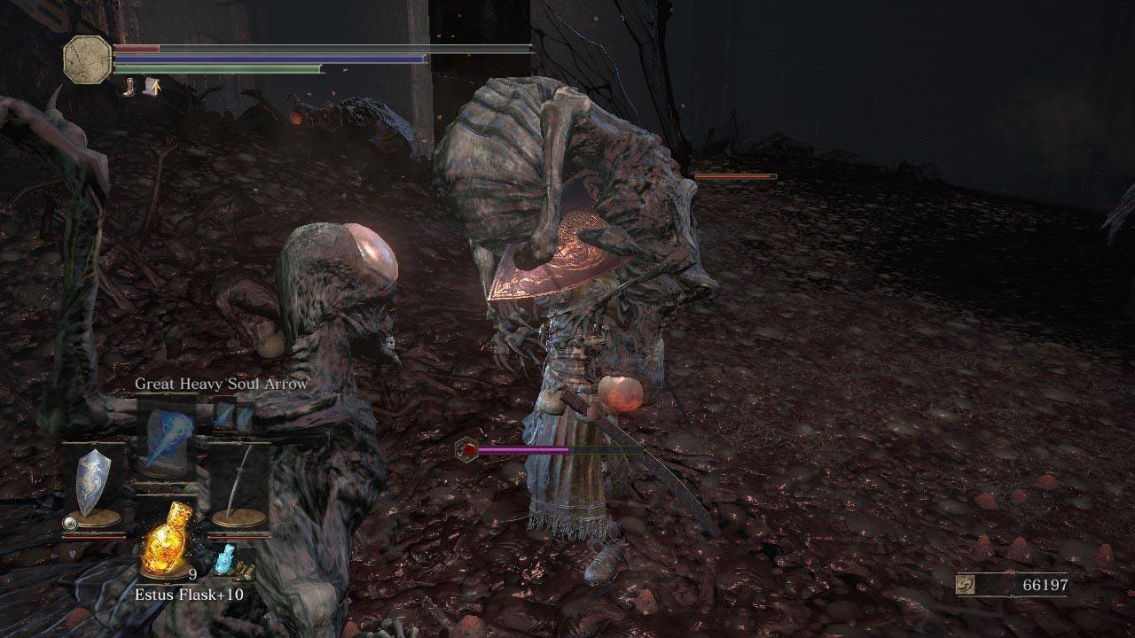 Dark Souls 3: Ashes of Ariandel walkthrough 5  Snowy