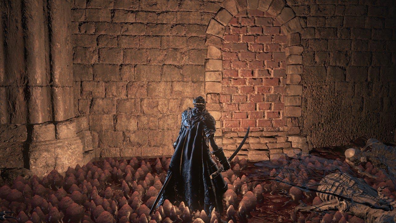Dark Souls  Boss Room Illusory Wall