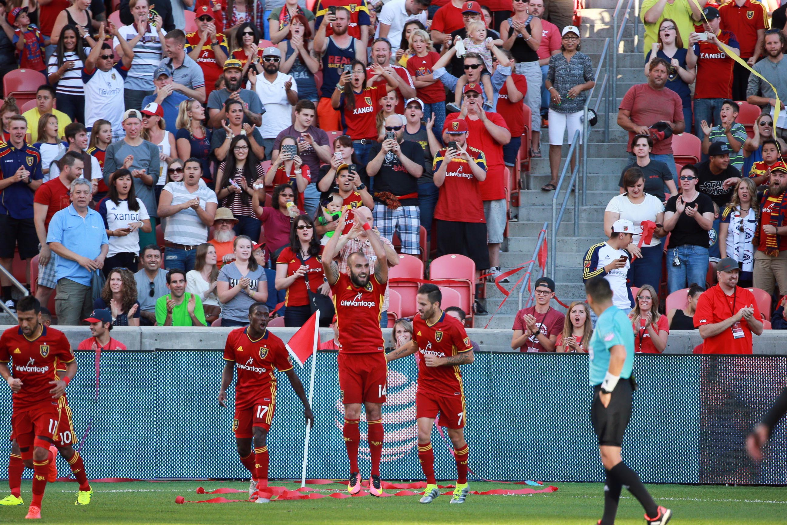 Emmanuel Boateng torments RSL with first-half brace
