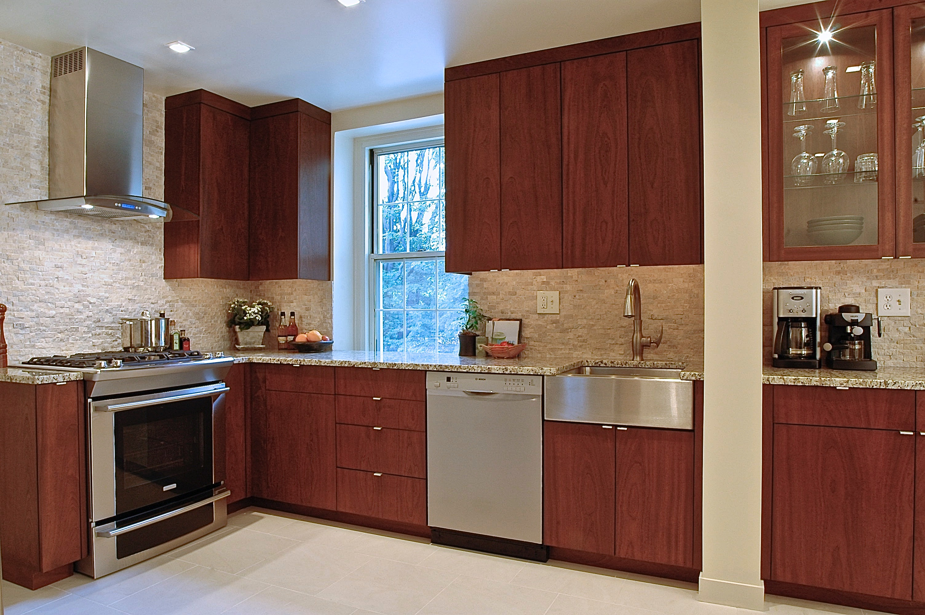 A guide to choosing kitchen cabinets curbed for Kitchen cupboard options