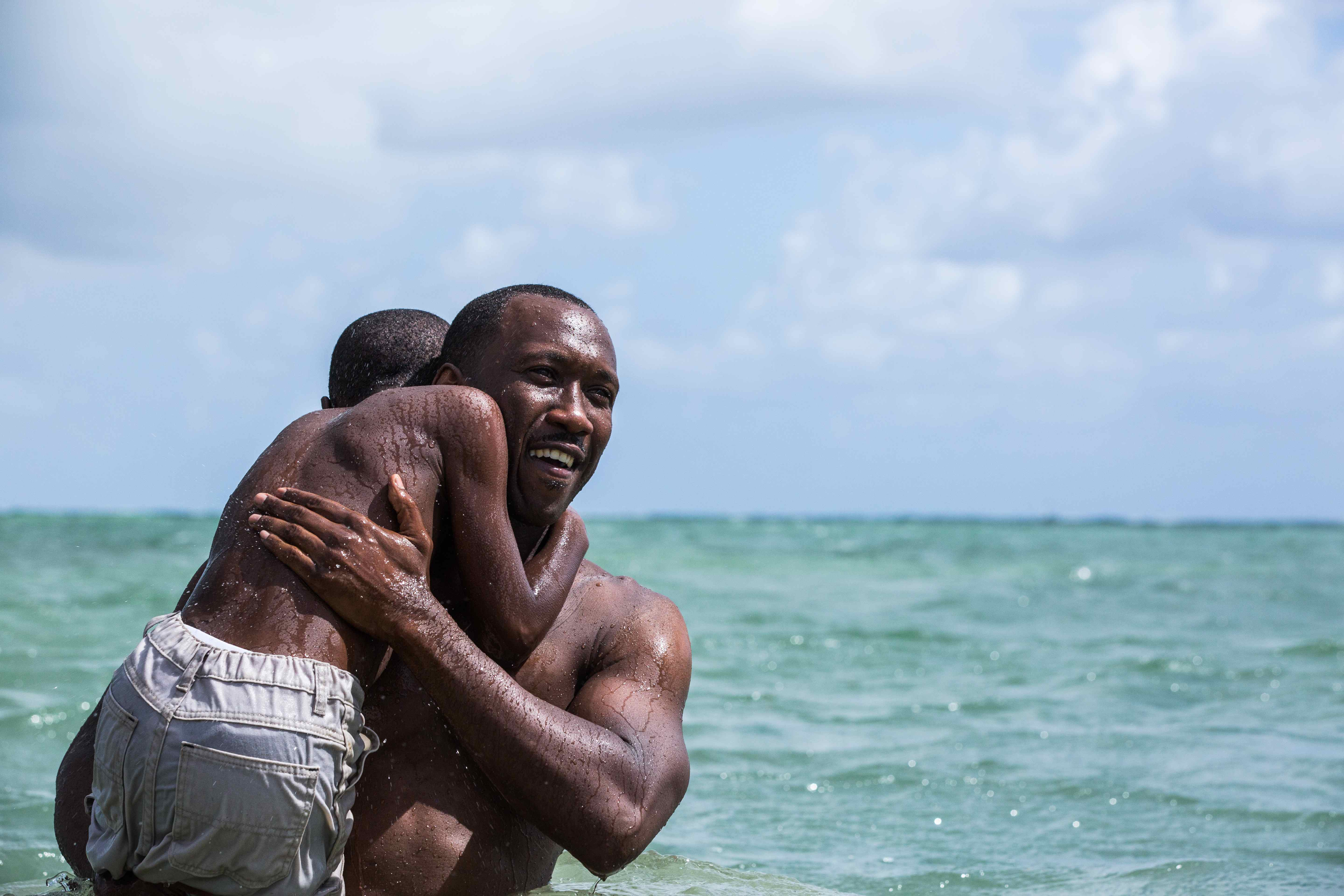 A shot from Moonlight
