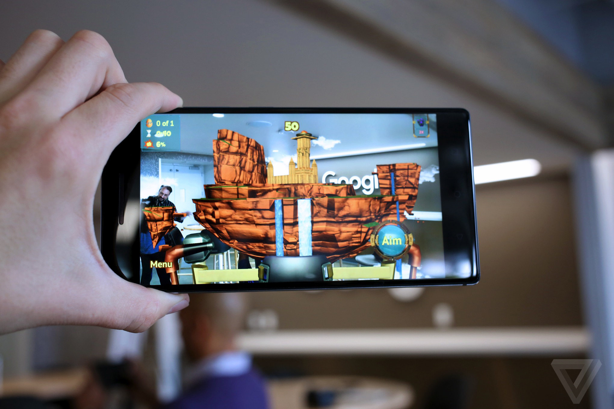 With First Tango Phone, Google Launches 35 Augmented Reality Apps
