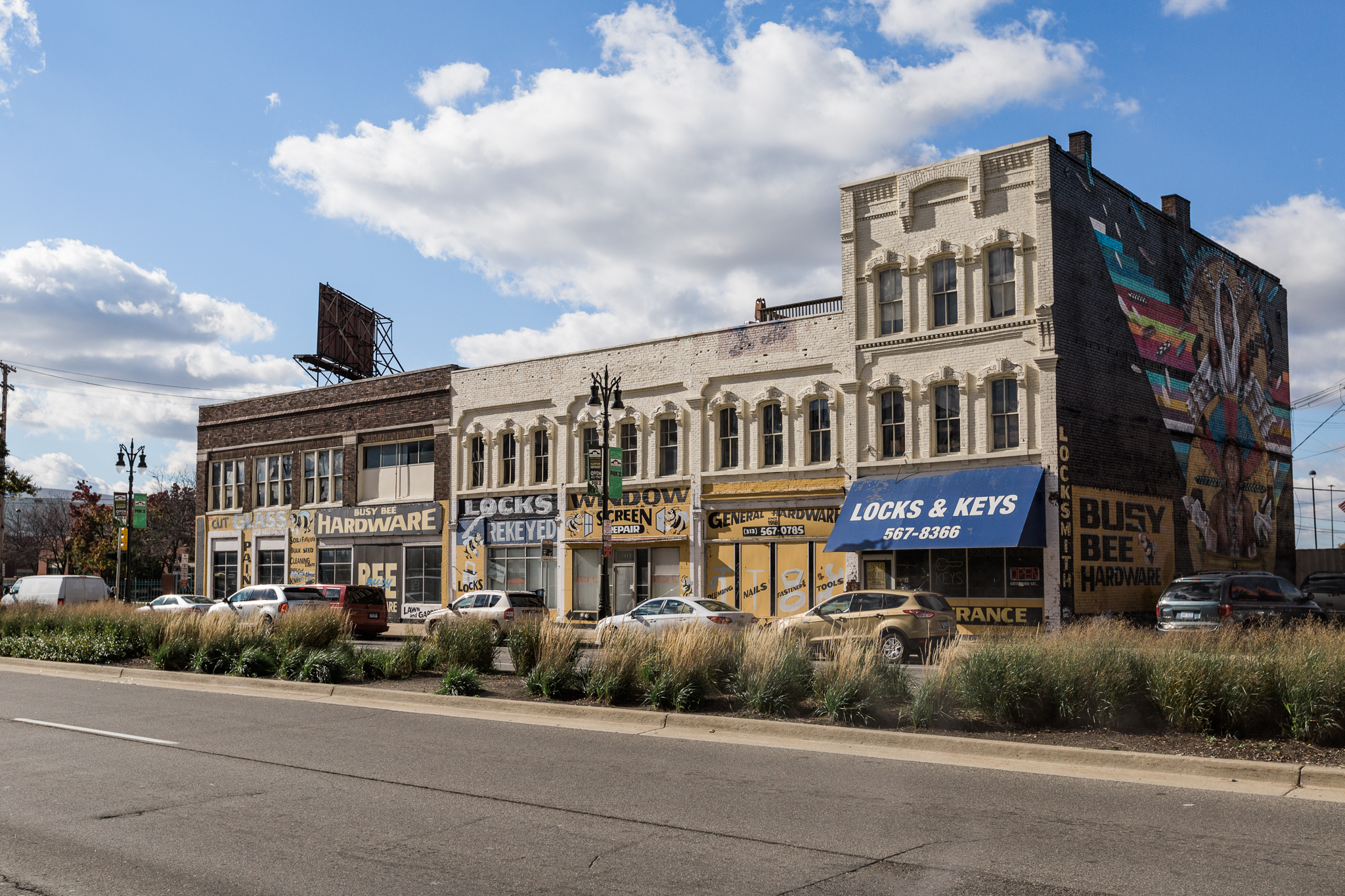 photos new retail fills storefronts on historic eastern market block curbed detroit
