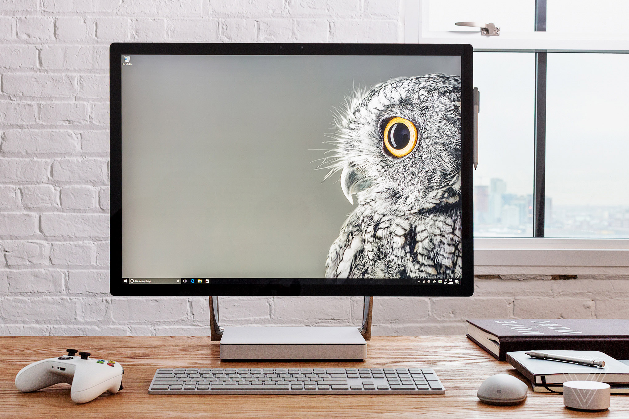 microsoft surface studio review a beautiful invader of apple 39 s base the verge