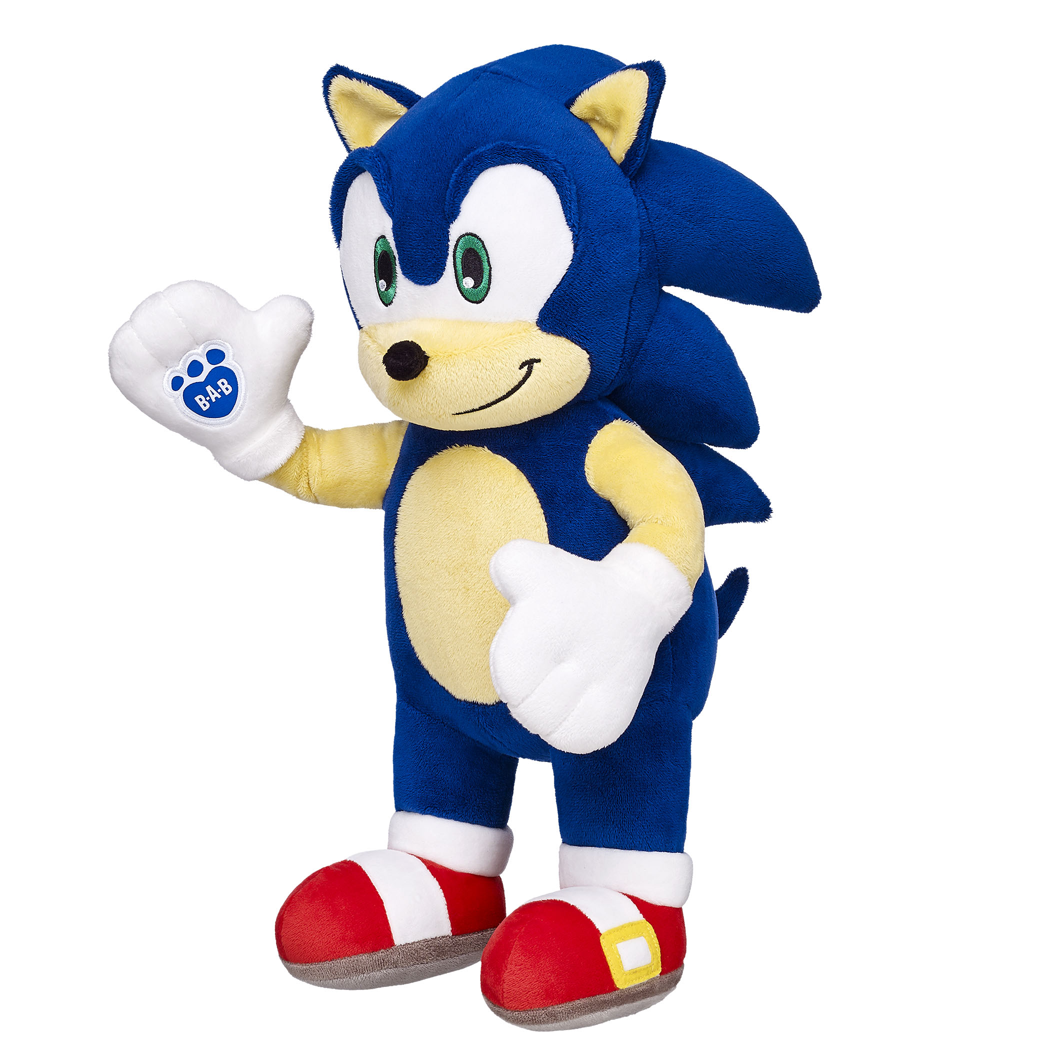 Sonic the Hedgehog makes his very huggable Build-A-Bear ...