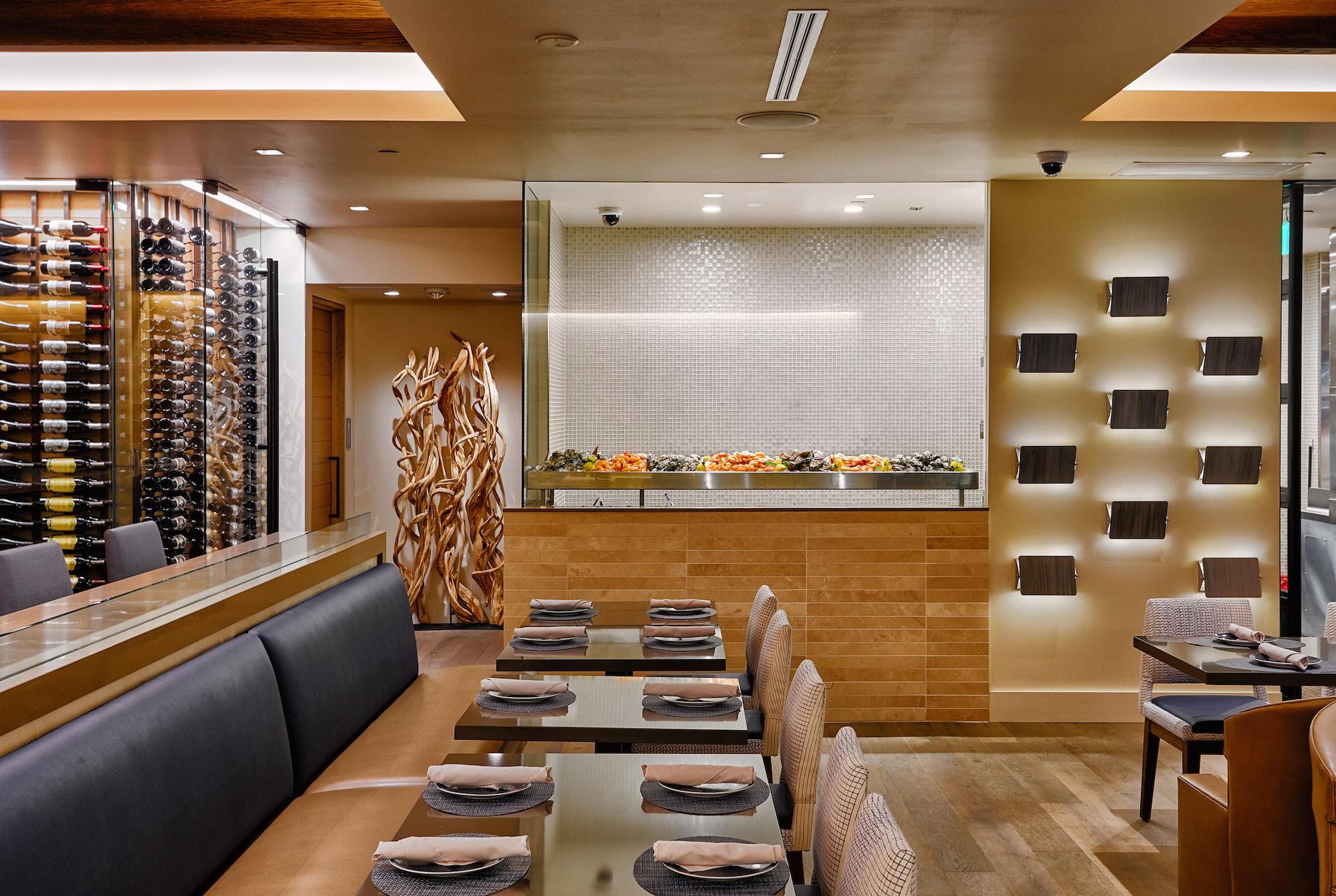 Bottlefish Restaurant Brentwood Menu