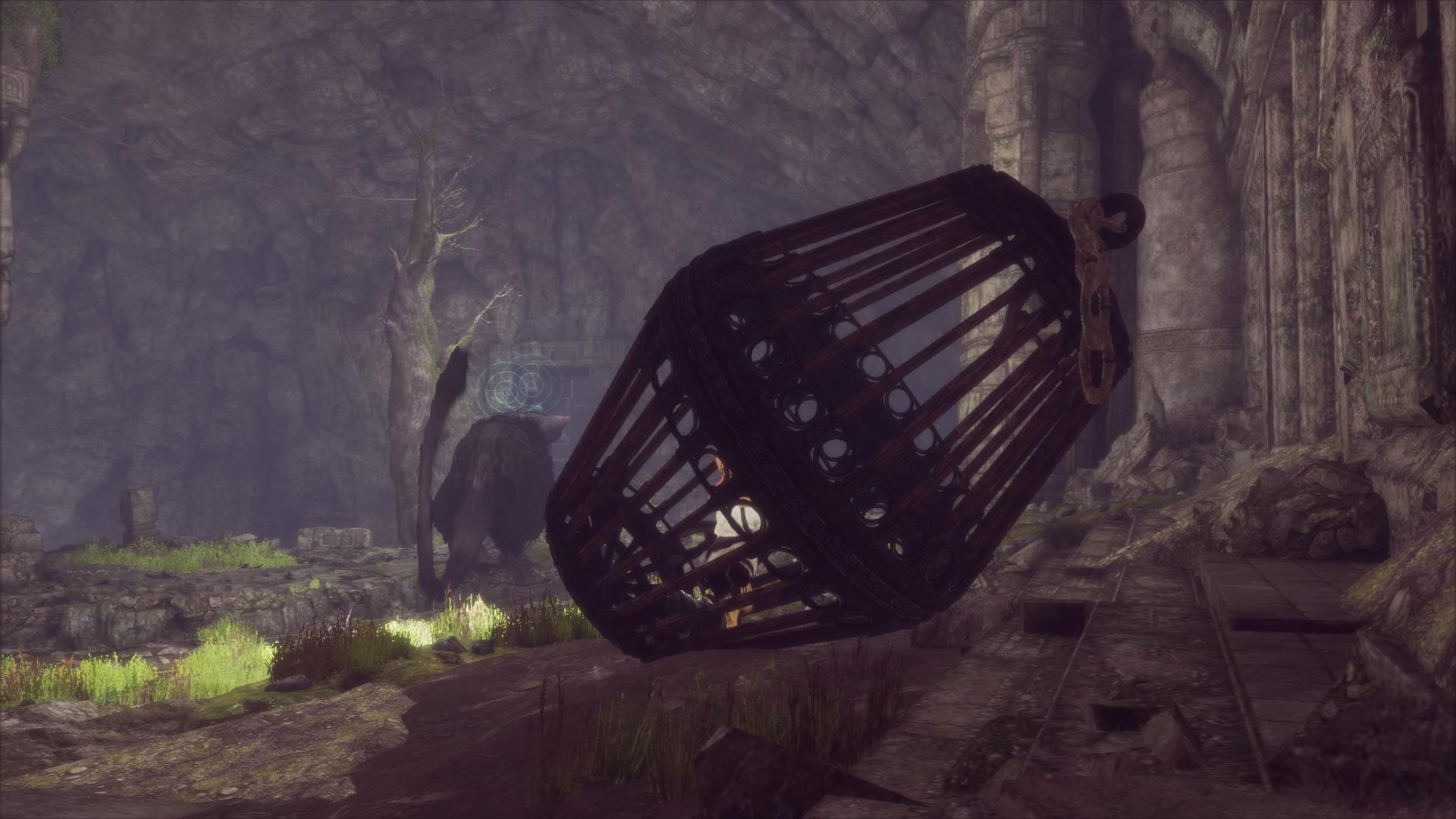 The Last Guardian walkthrough part 15: Escaping the elevators - Polygon