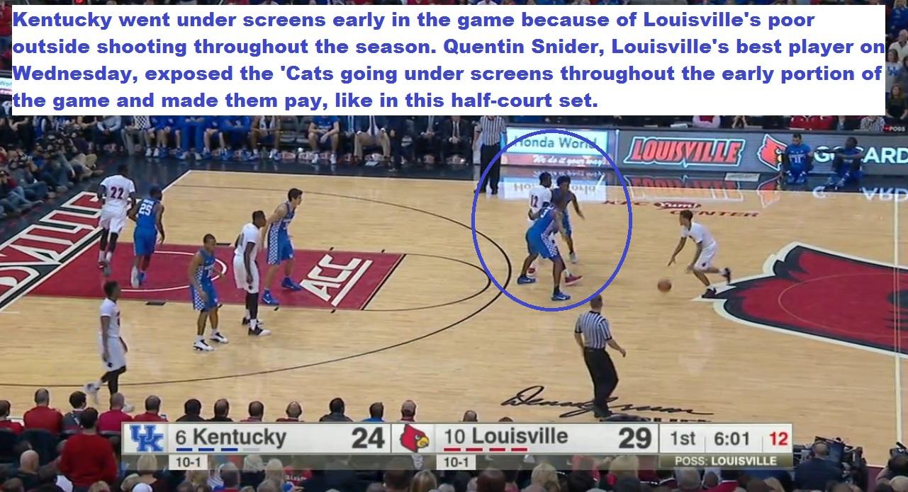 No. 10 Louisville tops No. 6 Kentucky in thriller