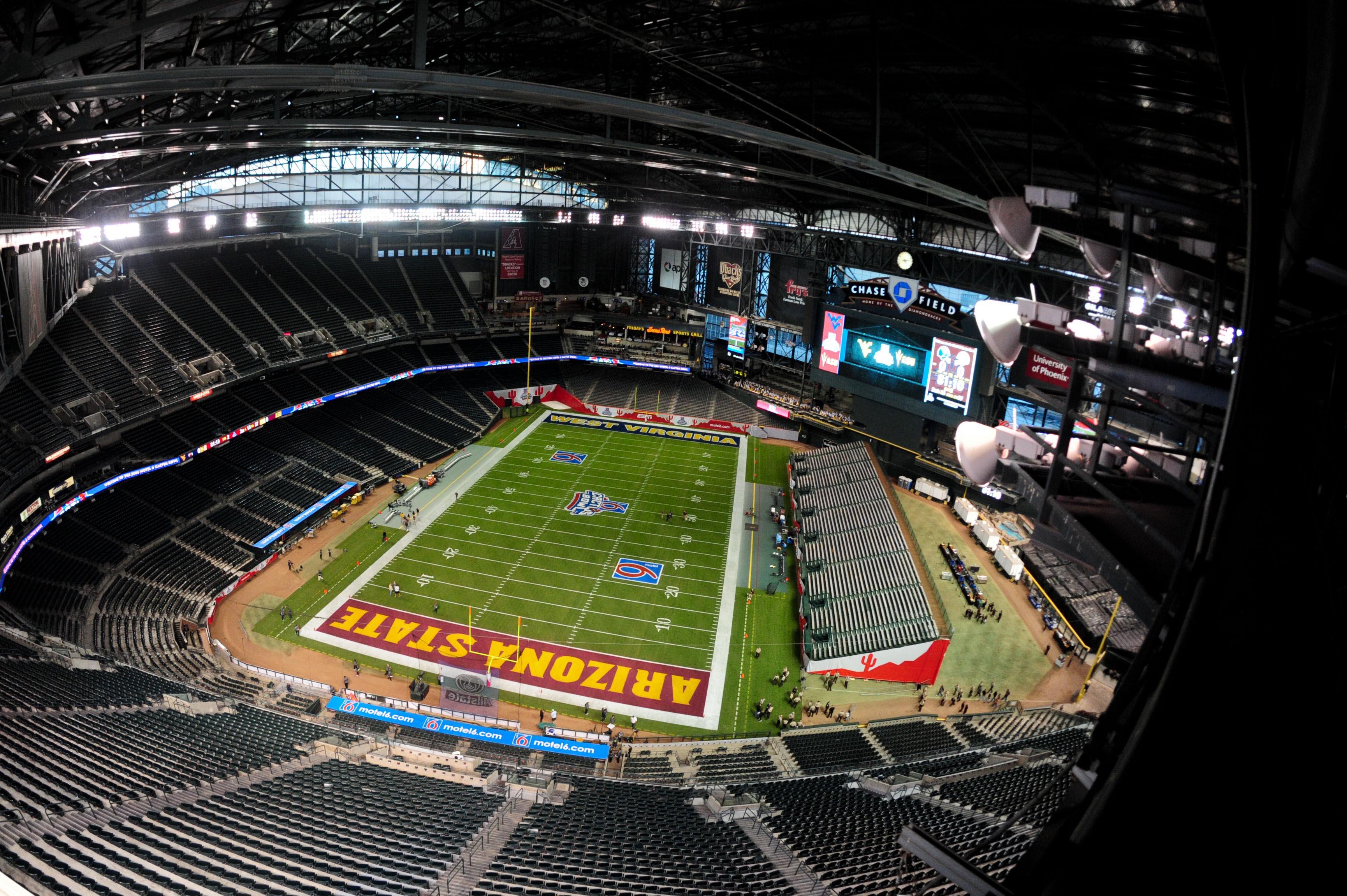 NCAA Football: Cactus Bowl-West Virginia vs Arizona State
