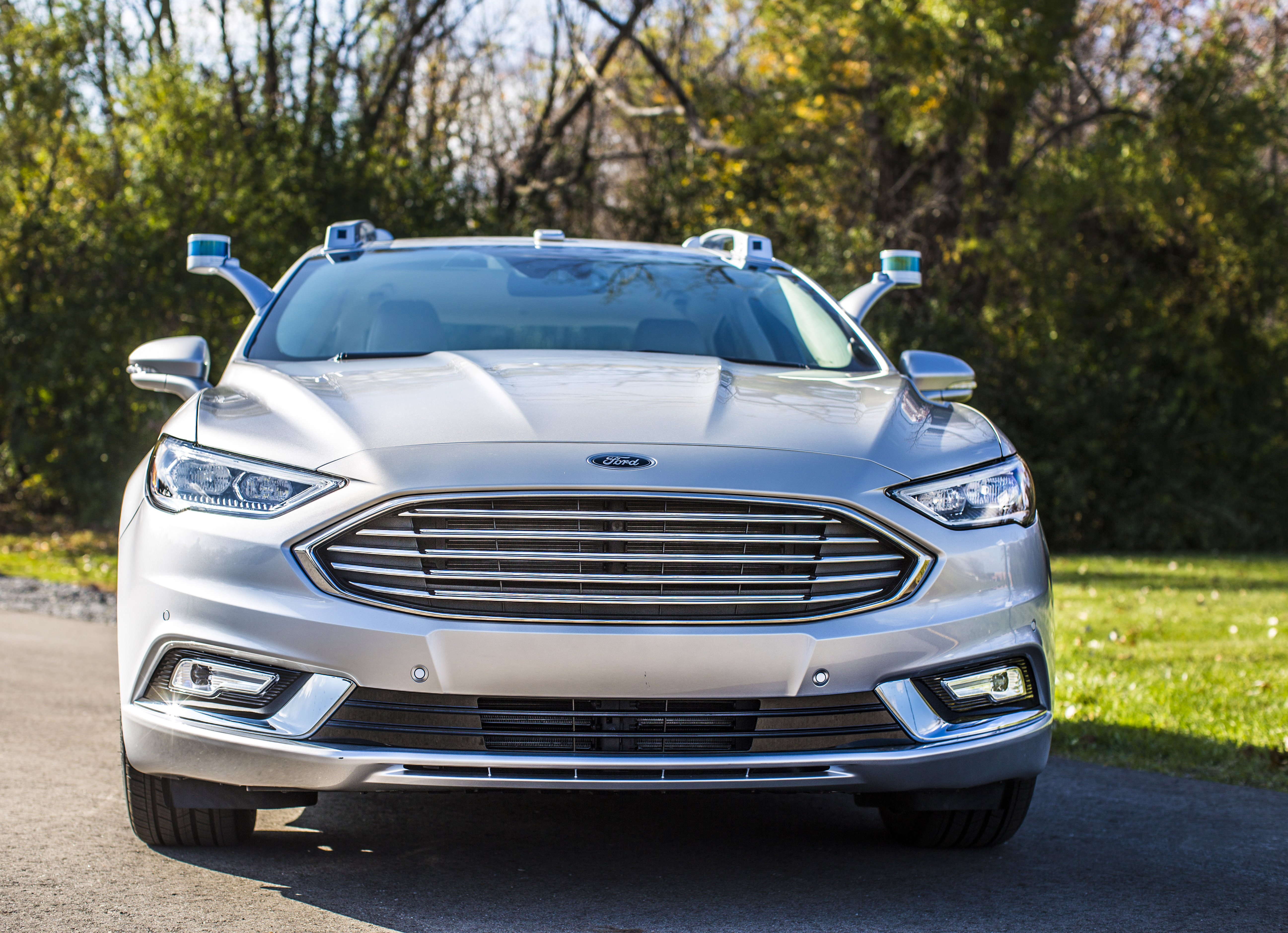 Ford S New Autonomous Fusion Looks Freakishly Normal