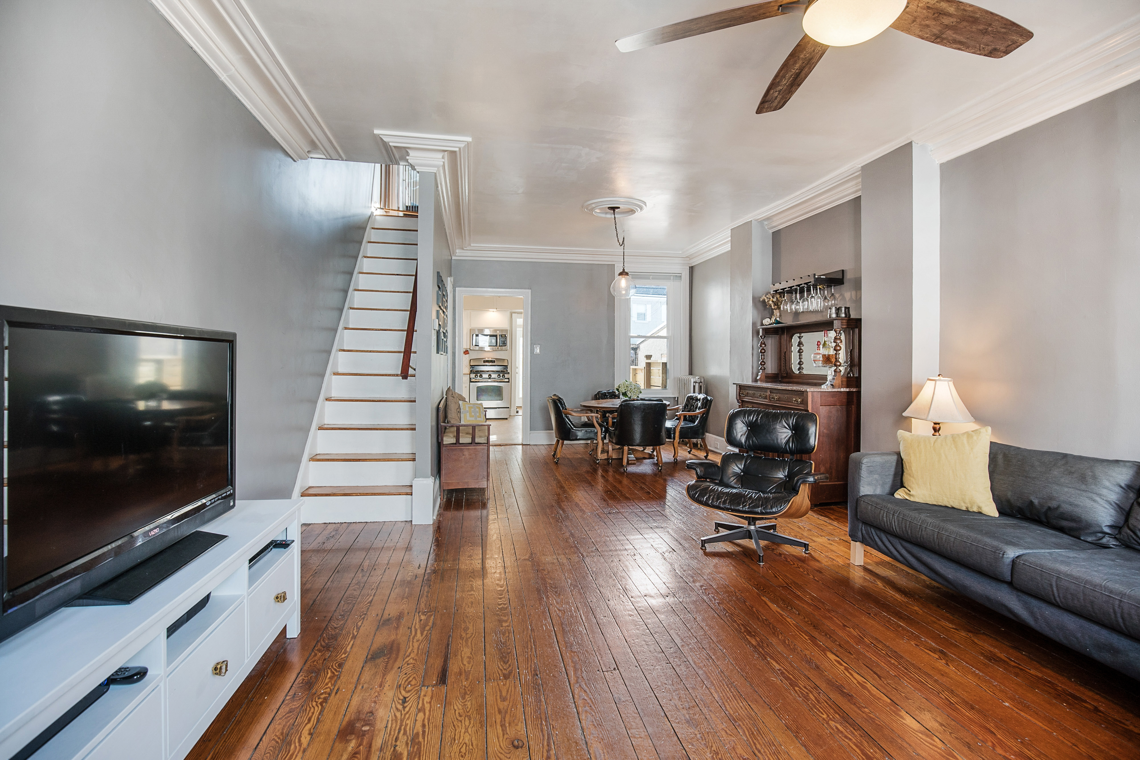 Renovated manayunk home wants just under 200k curbed philly for Modern house under 200k