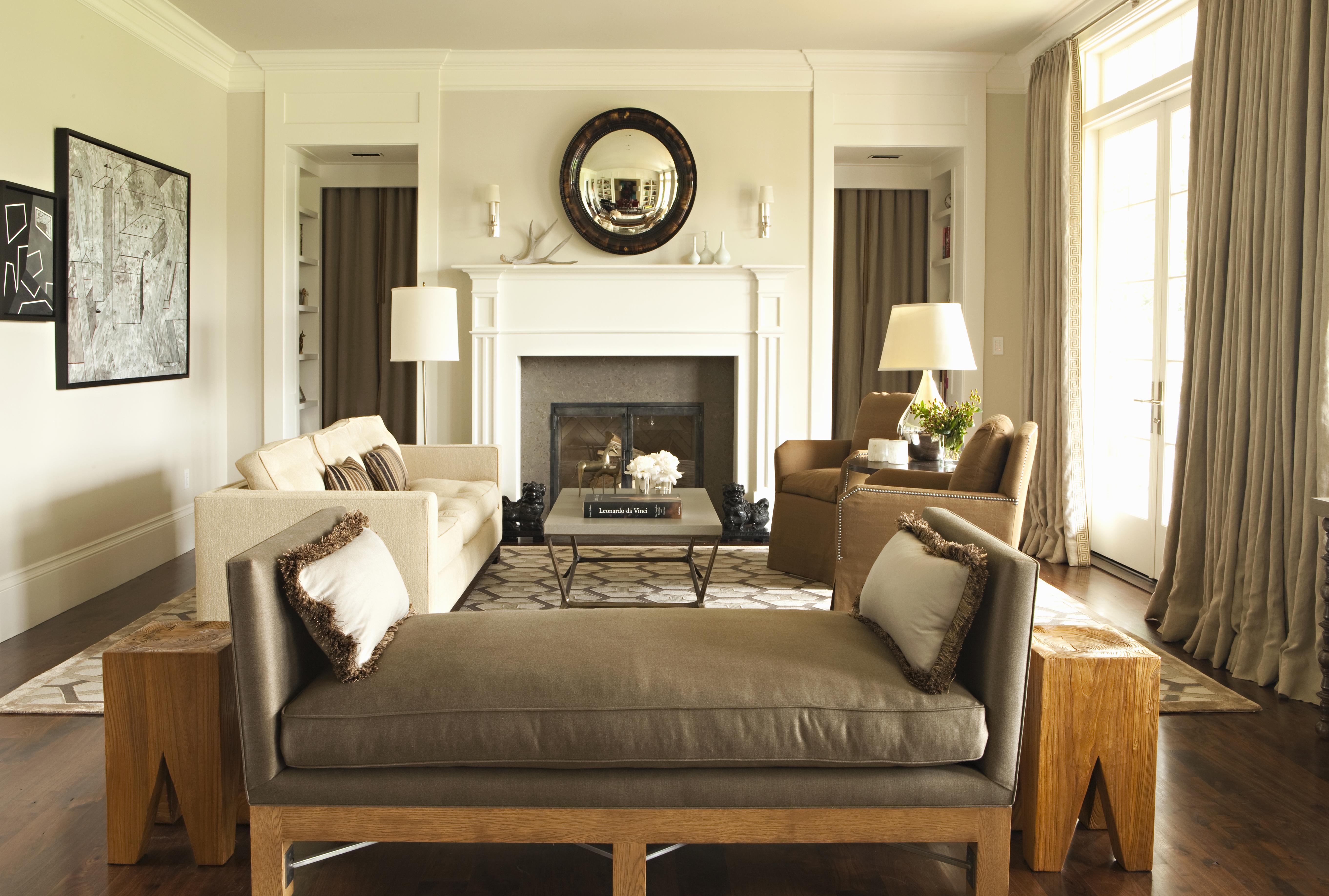 Living Room Color For Brown Furniture 12 Best Beige Paints Curbed