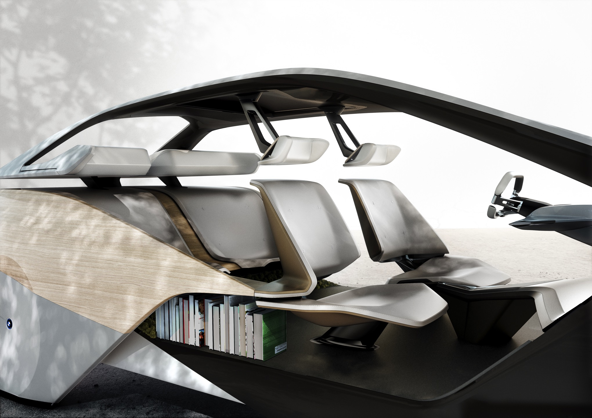 Bmw Thinks Your Car Interior Will Look Like This In Five Years The