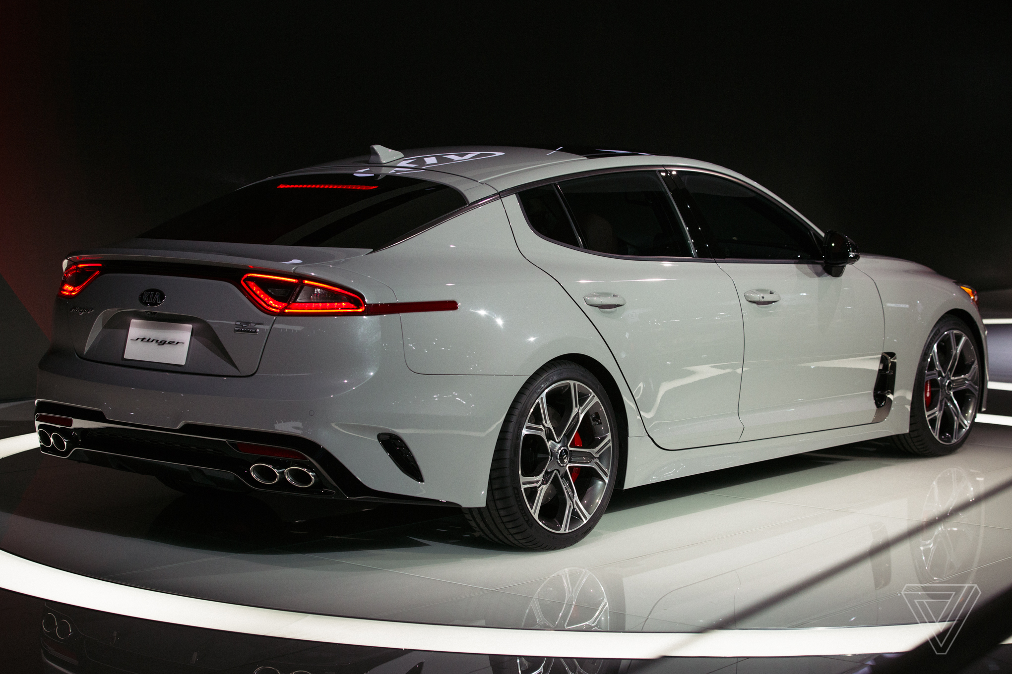 Going Crazy The Kia Stinger Is A Sports Sedan That Sizzles In A Sea Of