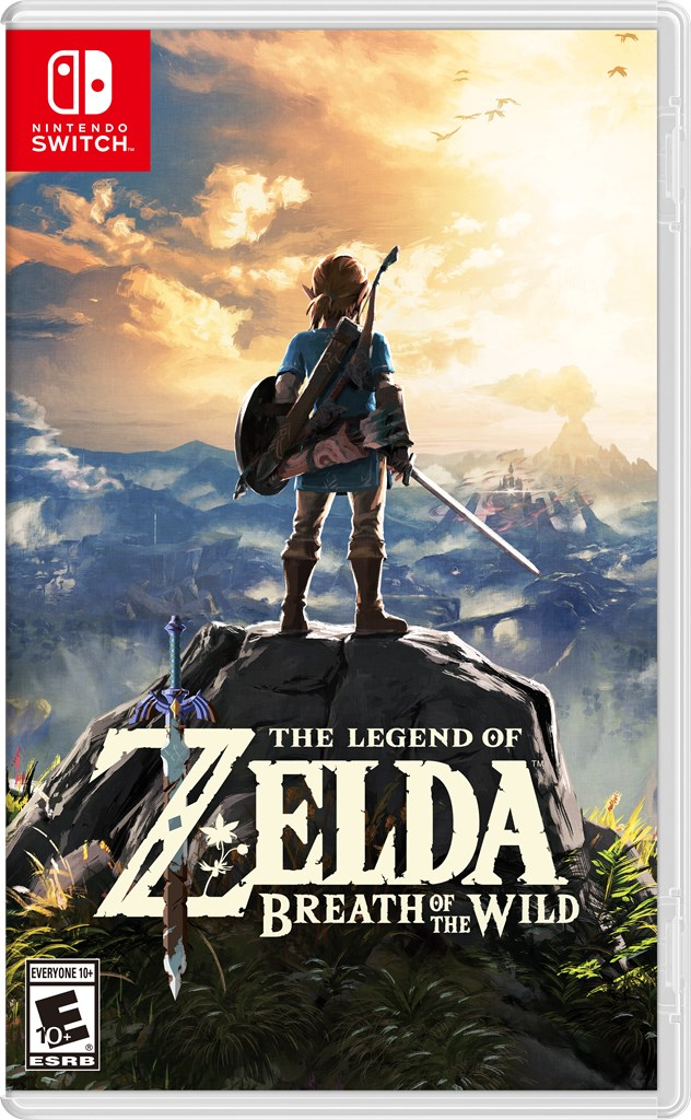 Resultado de imagen de breath of the wild box art
