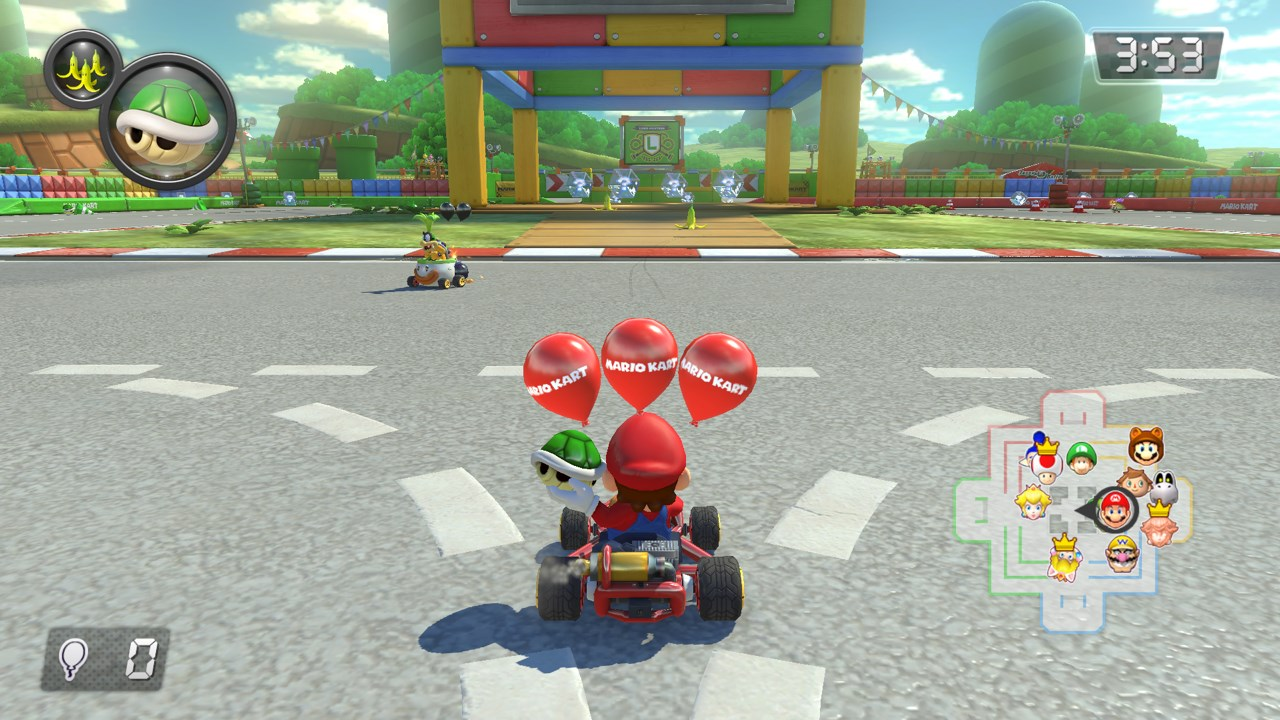 Image result for mario kart 8 deluxe switch screenshot