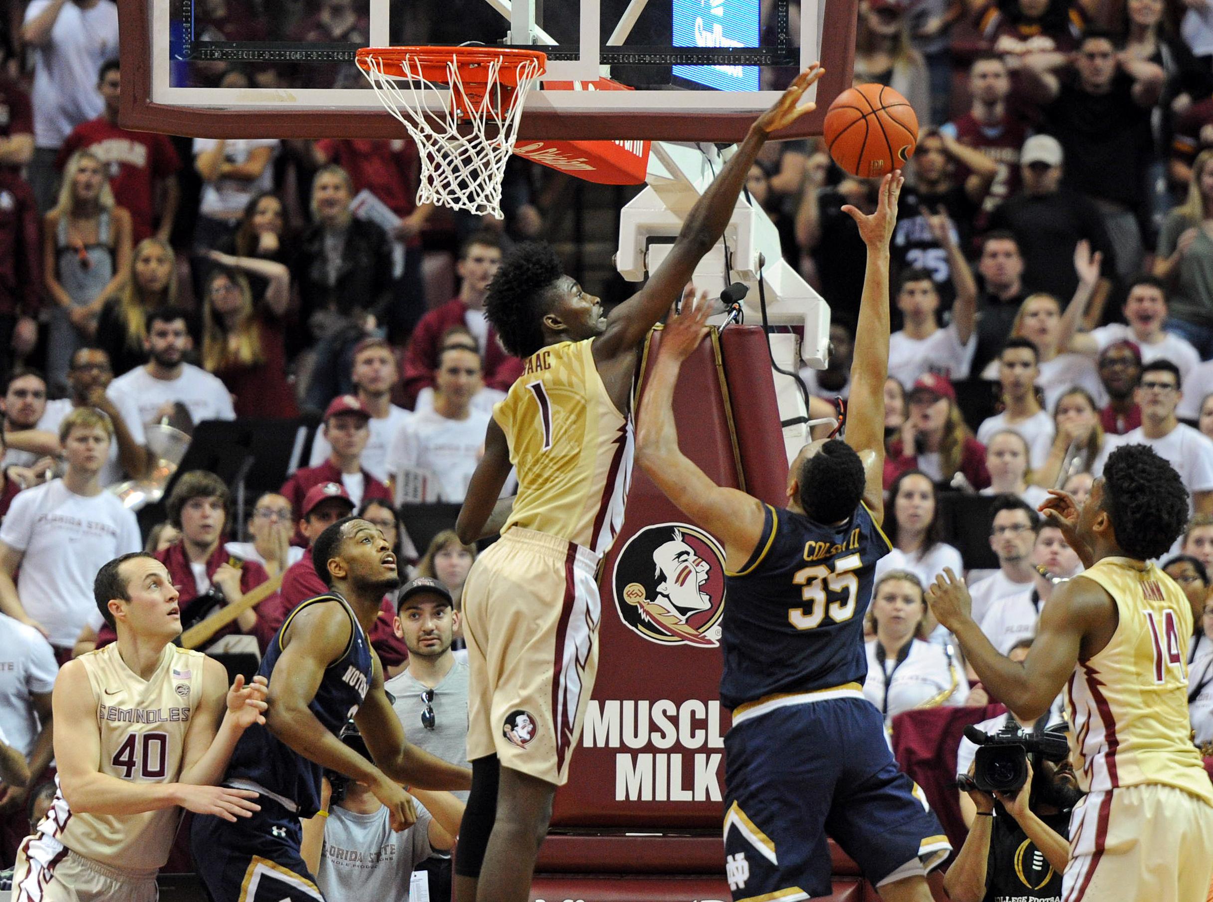 Resultado de imagen de florida state basketball notre dame