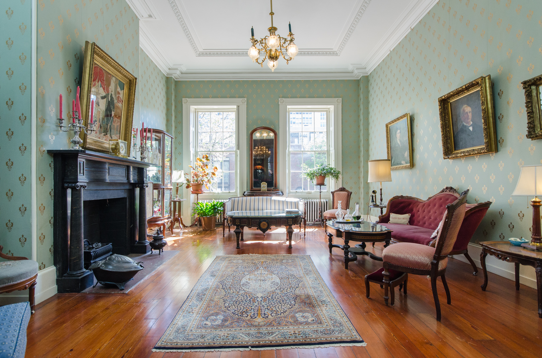 Historic John Penn House in Society Hill re lists for $2 45M