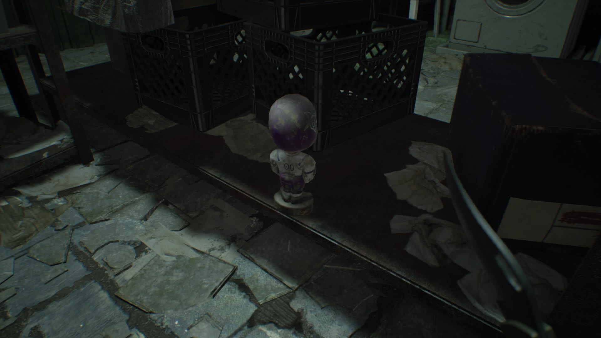 Resident Evil  Kitchen Door Locked