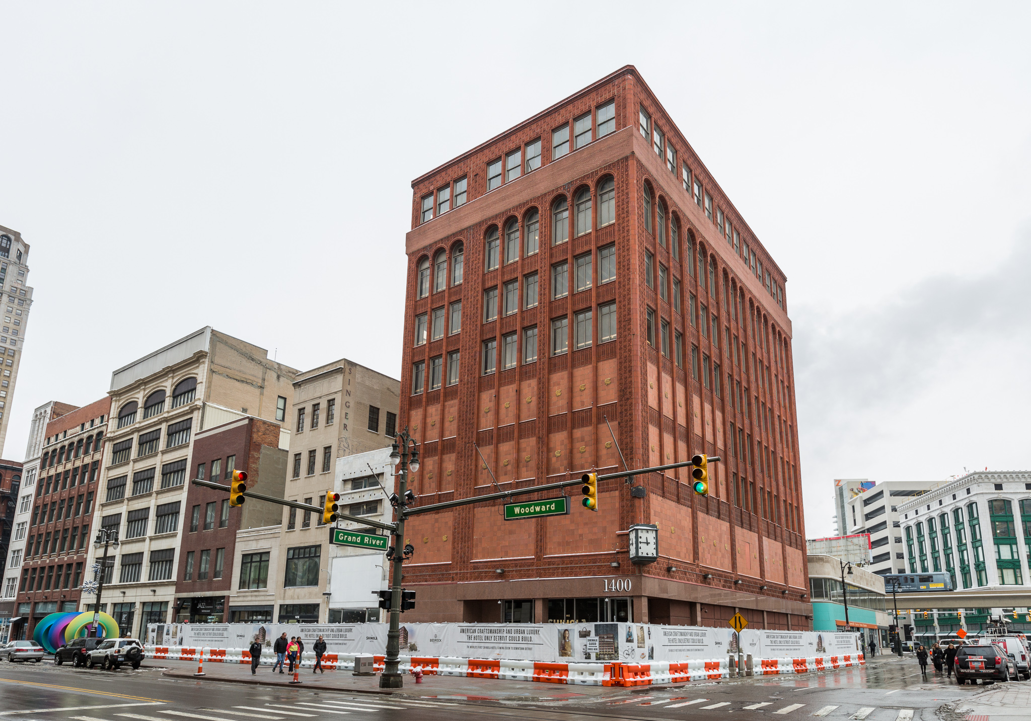 Construction officially starts on the shinola hotel for Sites hotel