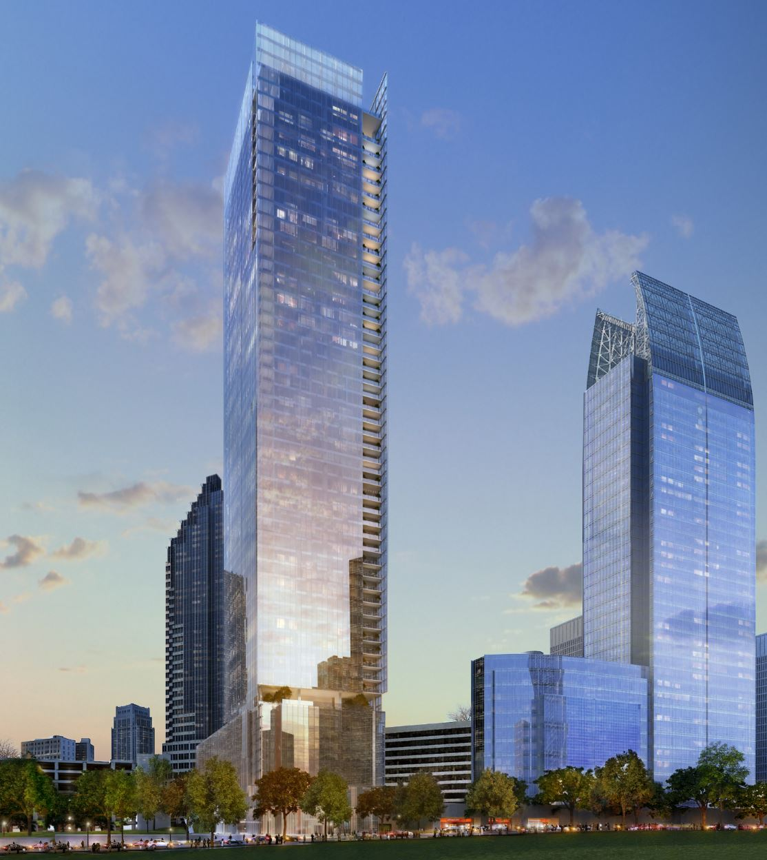 No2 Opus Place Exclusive Renderings Details For Atlanta