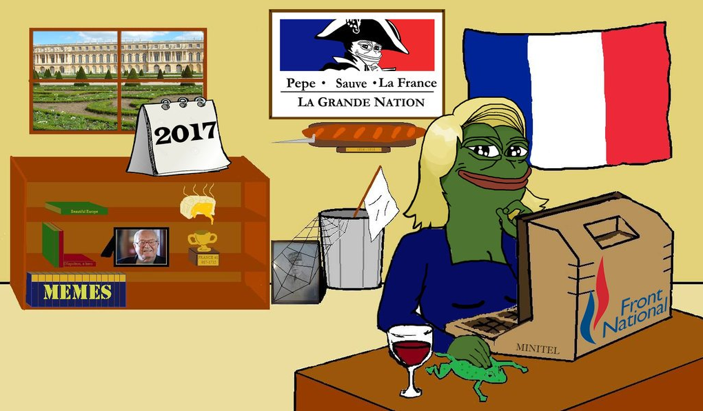 Image result for le pen pepe