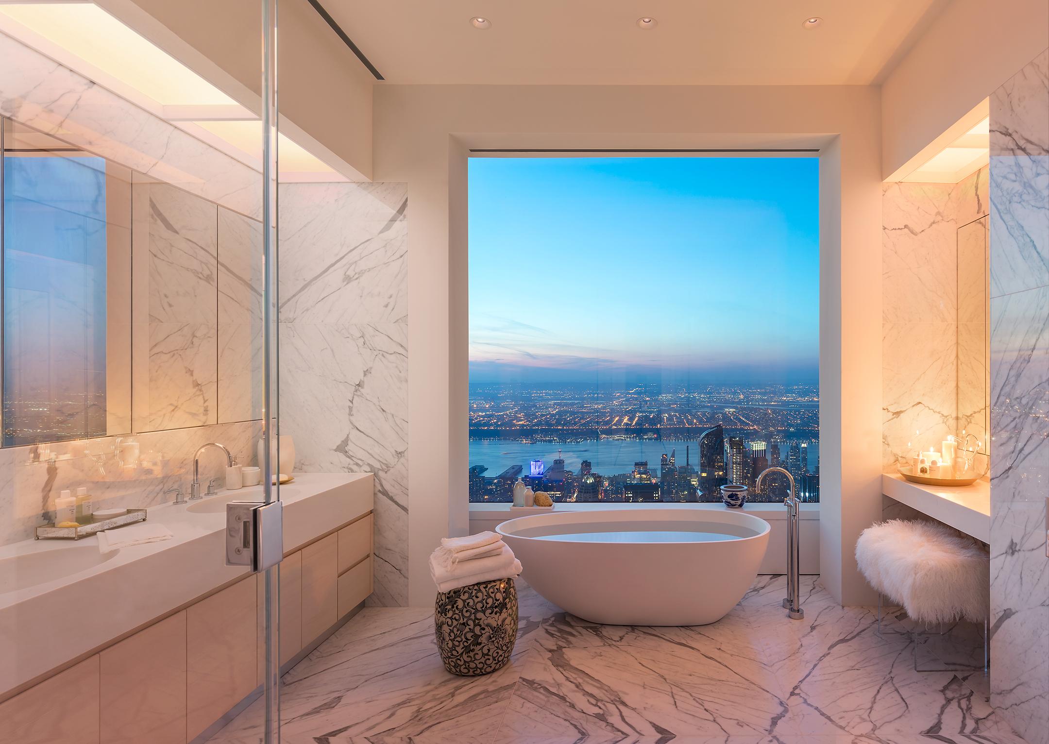 Minimalist house how to - Peek Inside 432 Park Avenue S 40m 92nd Floor Penthouse