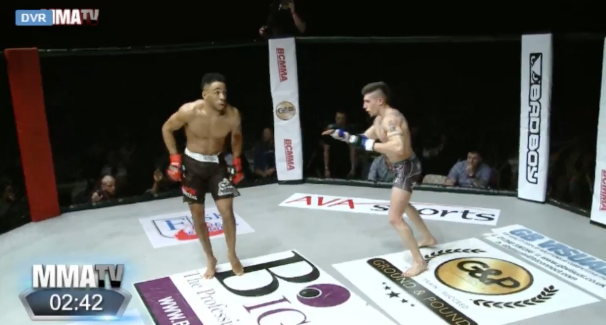Fighter Tries Showboating, Pays the Price and Gets Headkick KO'd
