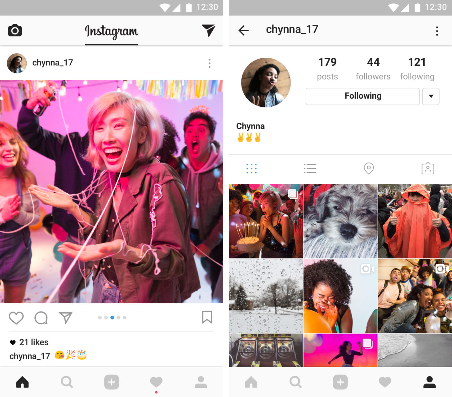 Instagram's carousel-style image sharing is open to all