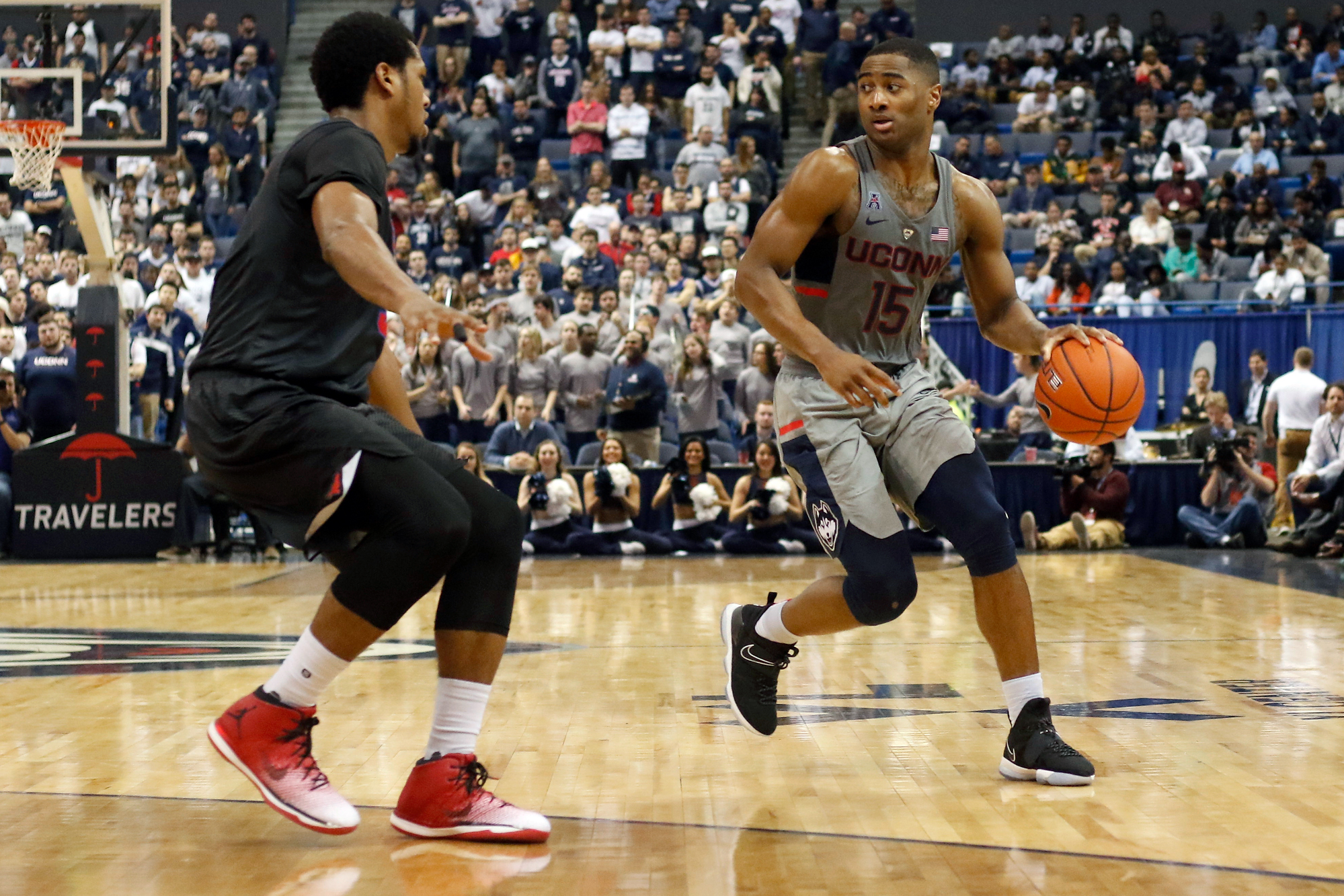 Photos Mbb Smu Mustangs Uconn Huskies 2 25 17 The