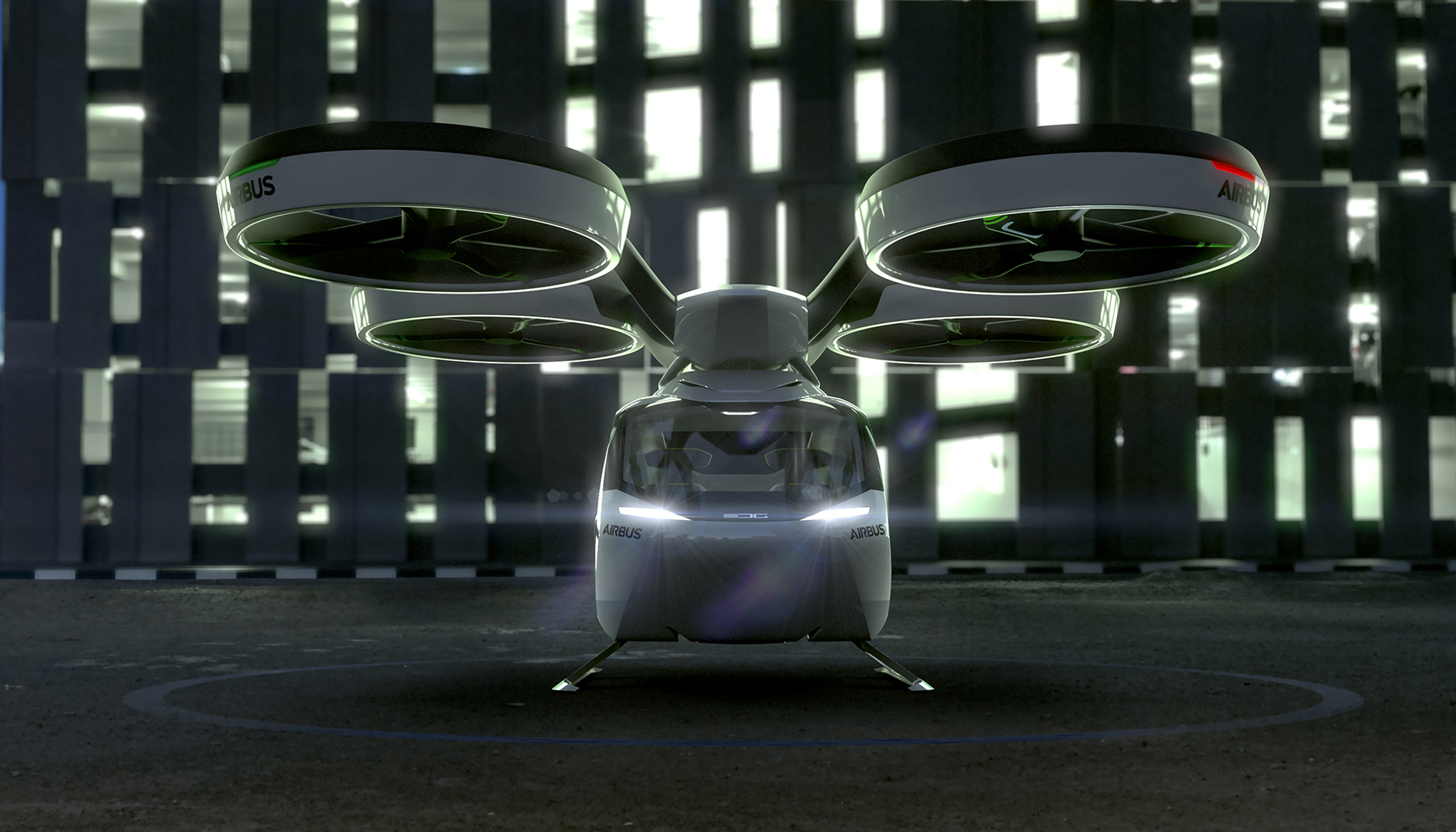 Airbus New Concept Is A Car A Drone And A Train All In