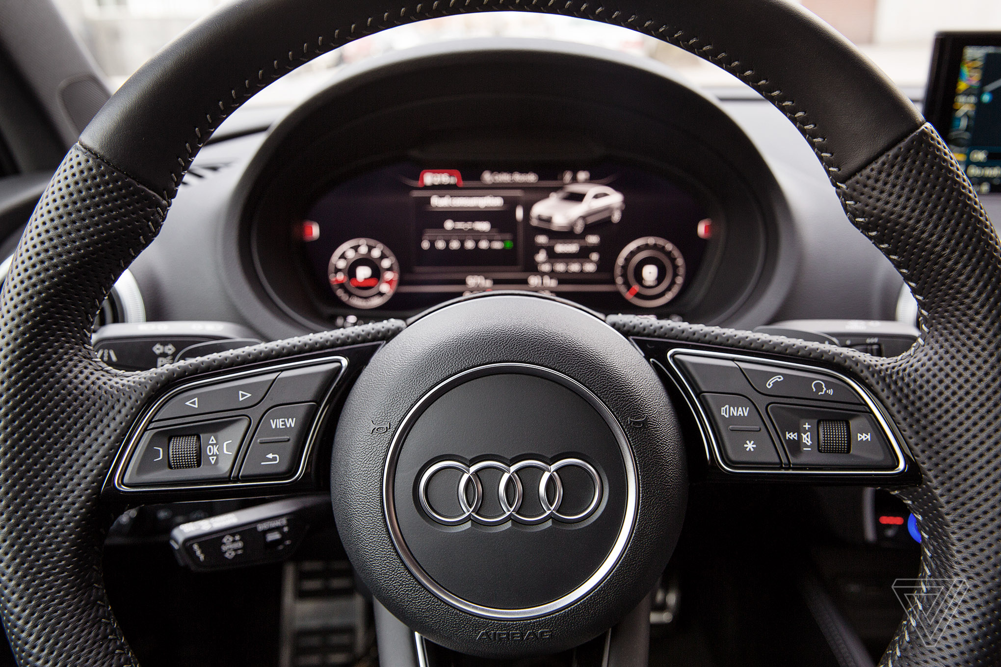 Screendrive The 2017 Audi S3 Reinvents The Moving Screen The Verge
