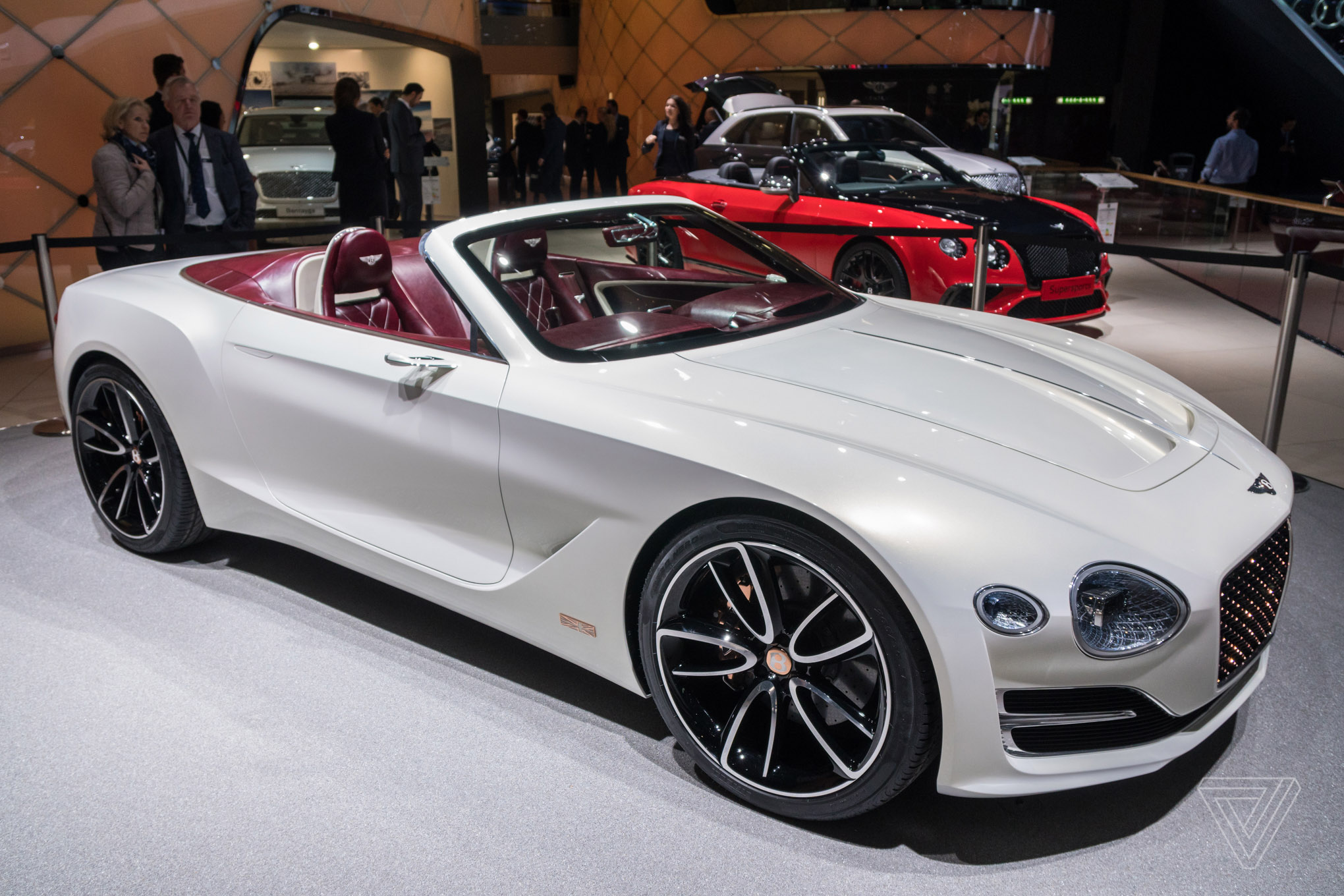 Luxury Vehicle: Bentley Challenges Tesla's Idea Of Electric Luxury With A