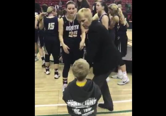 WIAA, family release statements after blocked hug video goes viral