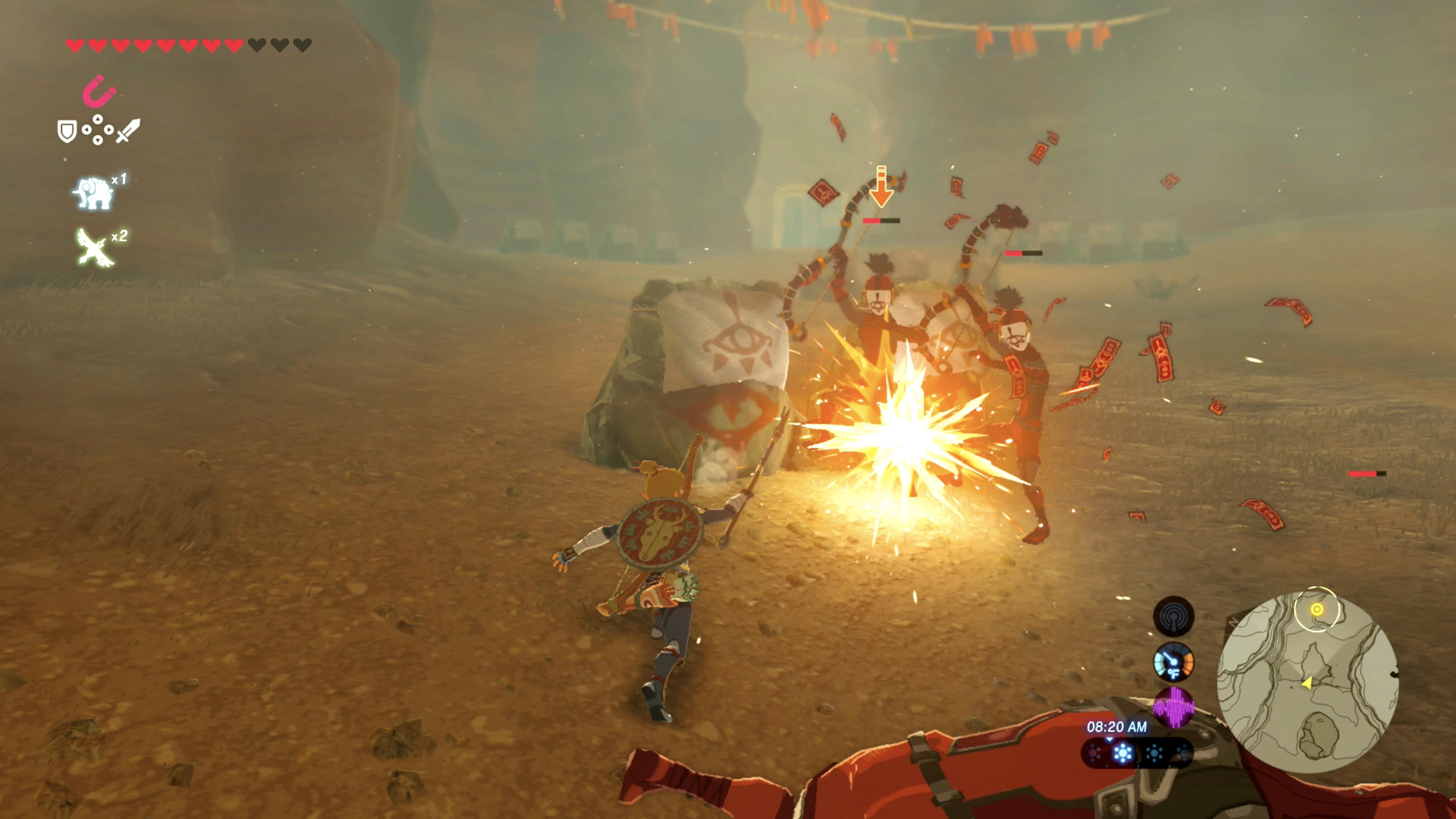 Gerudo Town Breath Of The Wild >> The Legend of Zelda: Breath of the Wild - 'Divine Beast Vah Naboris' main quest guide and ...