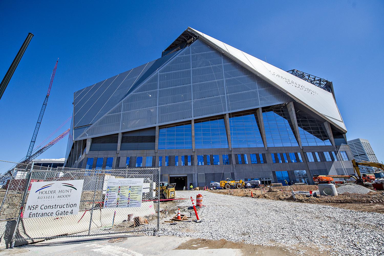 photo update mercedes benz stadium home of atlanta