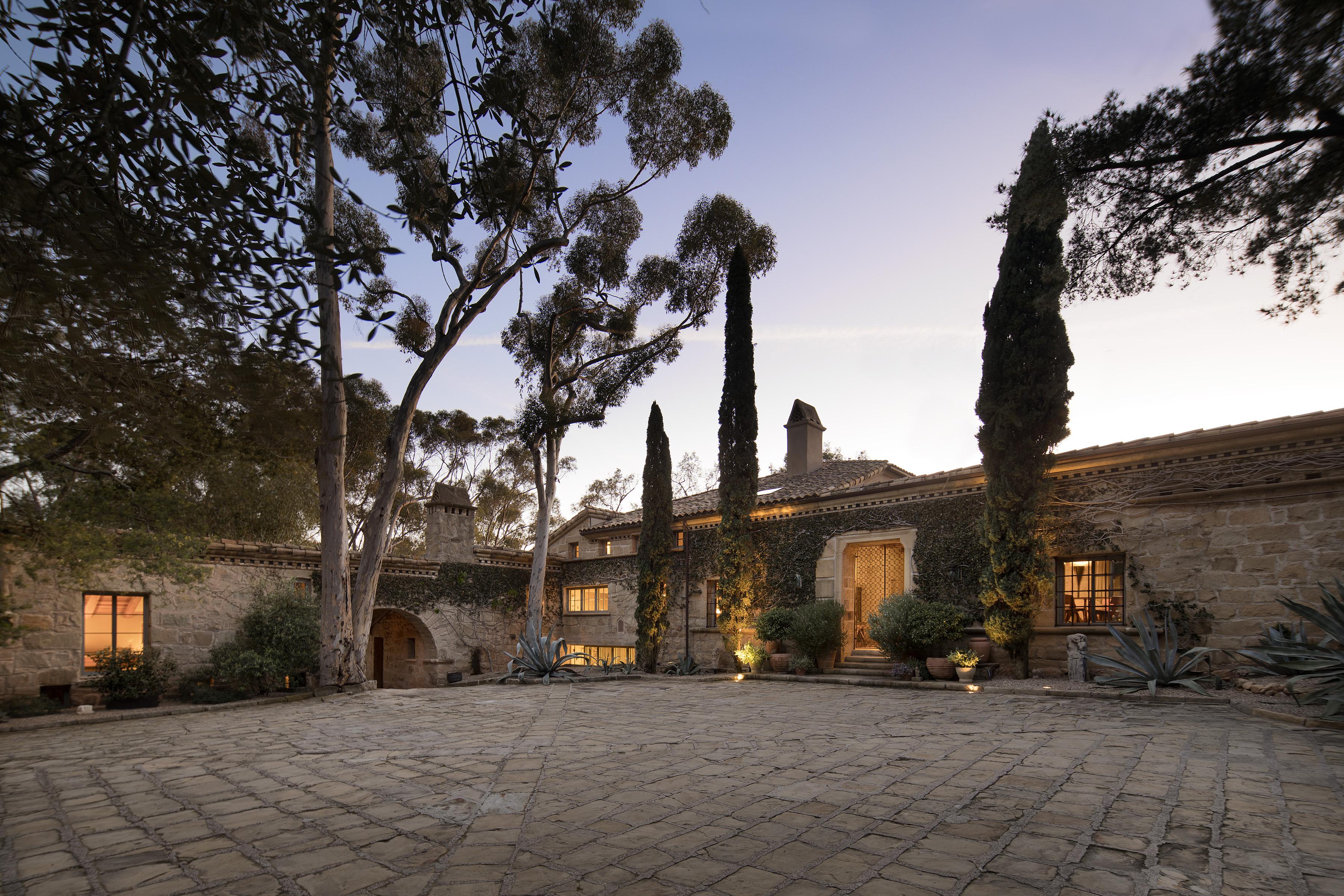 Ellen DeGeneres and Portia de Rossi list their stunning Santa Barbara villa for $45M