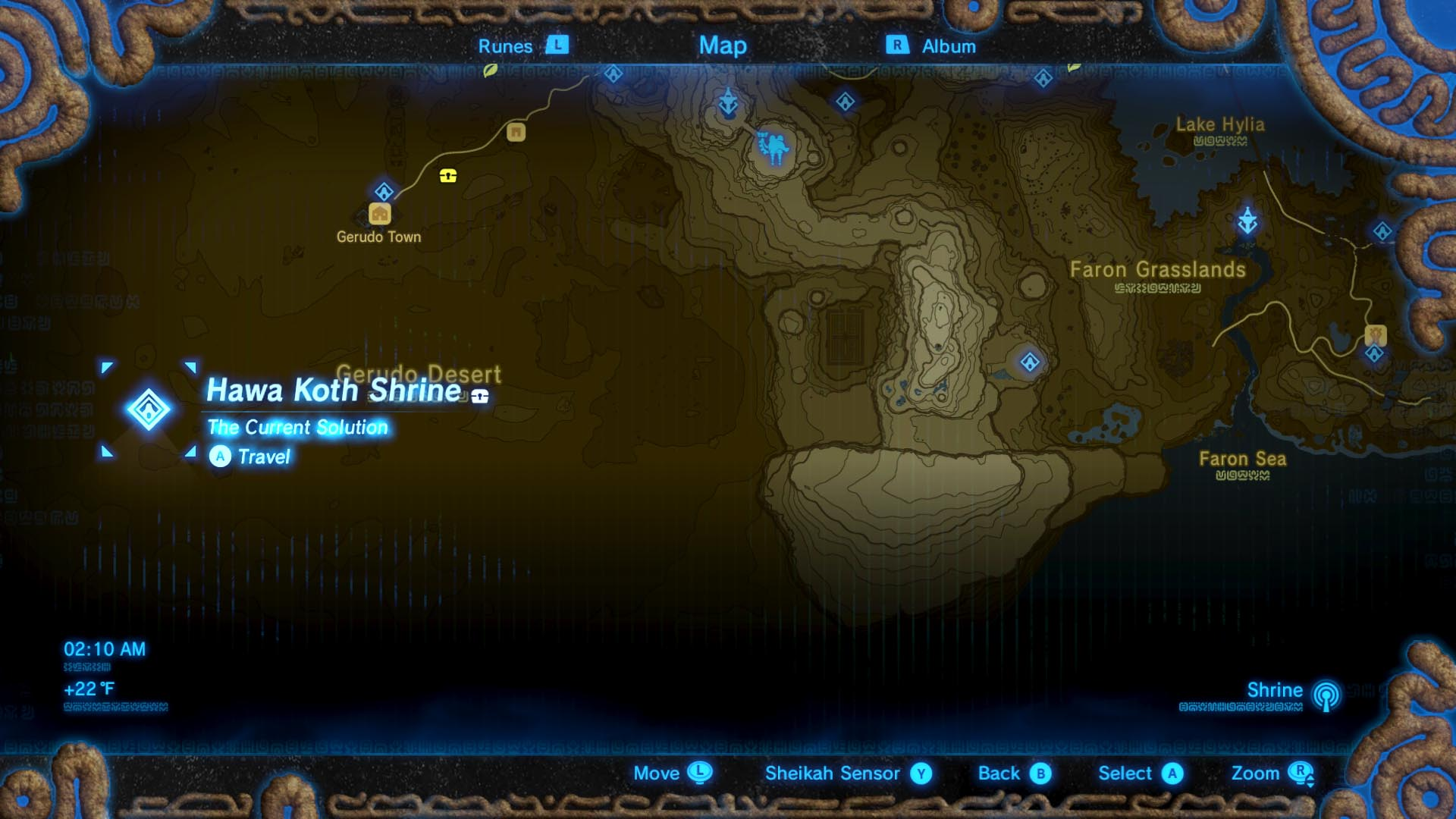 Zelda Breath Of The Wild Guide Hawa Koth Shrine Location