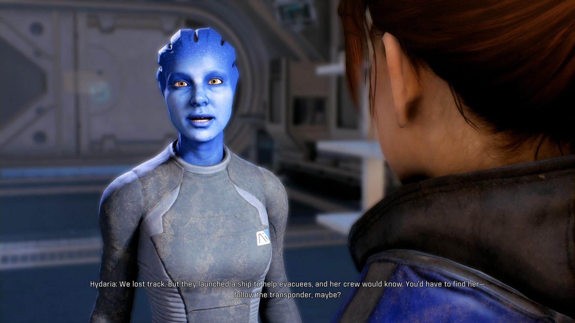 Mass Effect Project Blue Dawn