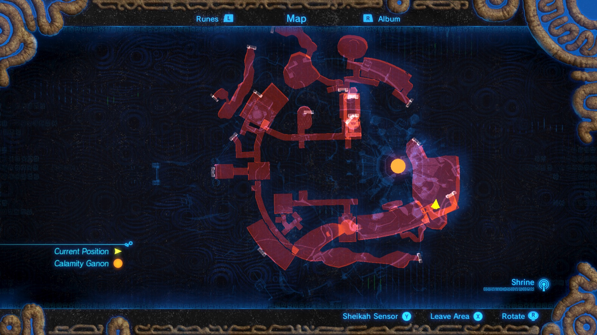 how to make your map colored in botw