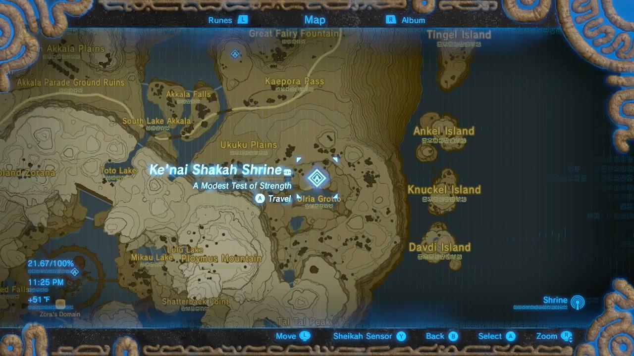Zelda: Breath of the Wild guide: Ke'nai Shakah shrine ...
