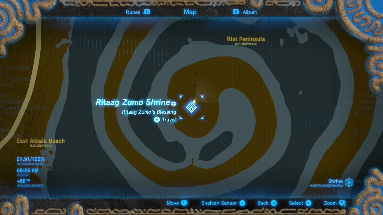 Zelda: Breath of the Wild guide: Ritaag Zumo shrine (Into the Vortex