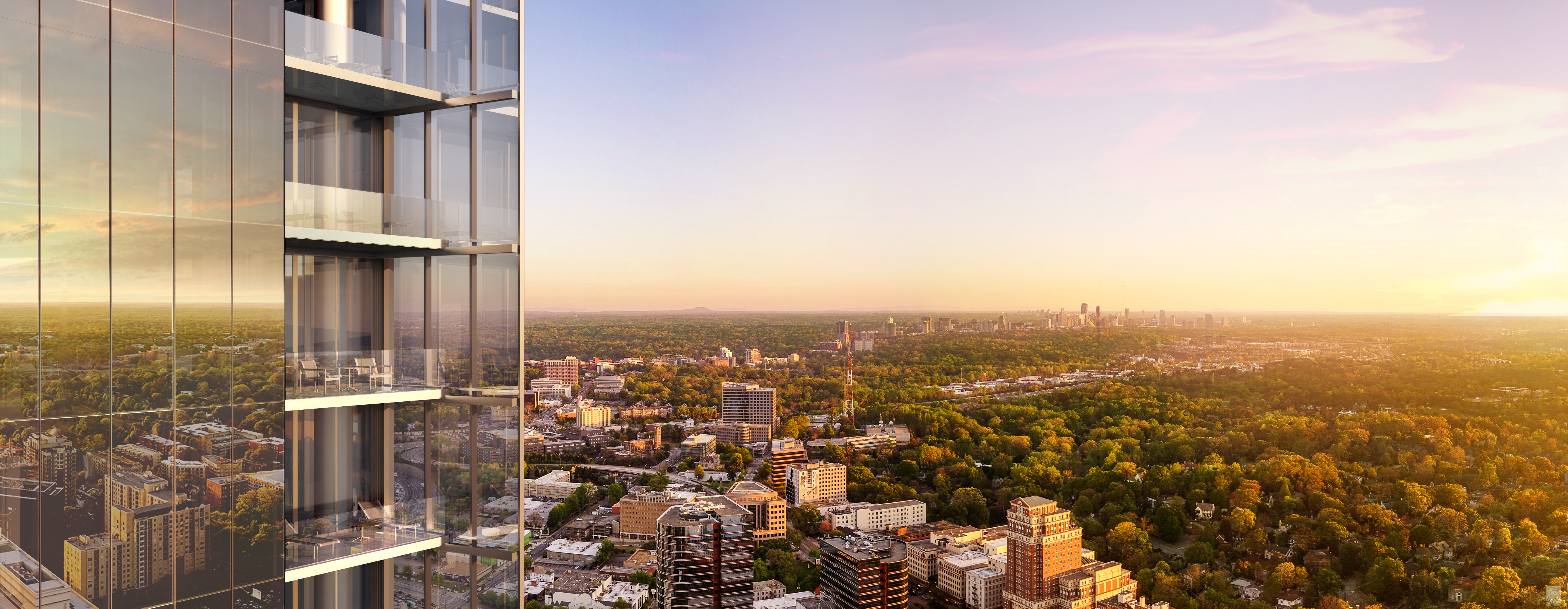 No2 opus place exclusive renderings details for atlanta for Apartments near mercedes benz stadium
