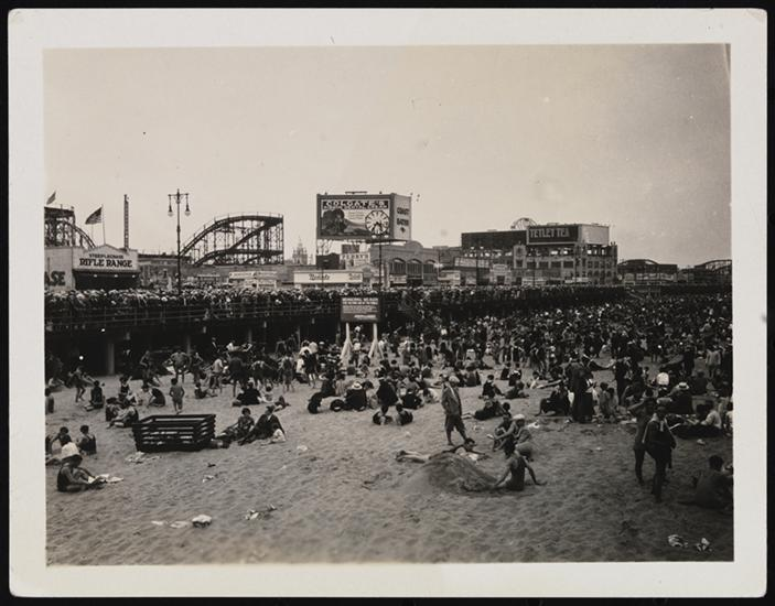 coney island officially opens for the season celebrating